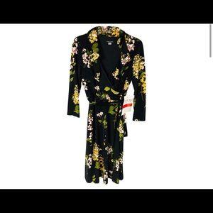 Tommy Hilfiger Faux Wrap Dress Size 4